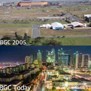 ボニファシオ・グローバルシティの発展