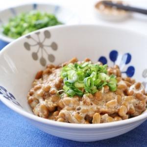 シンプルライフのお食事 お昼ご飯 その1 納豆蕎麦