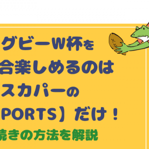 【画像付き】ラグビーワールドカップ2019全試合生中継はJ SPORTSだけ!申し込み方法を解説
