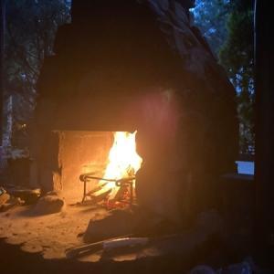 キャンプアンドキャビンズ那須高原【暖炉サイトを遊び尽くす!】
