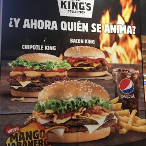 day 919: Burger Kingのマンゴーハバネロバーガー。
