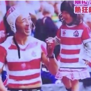【マジ天使】ラグビーの熱狂的ファンの親子が可愛すぎる!!