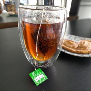 おフランスの紅茶、買ってみた。クスミティ、いい香り~(*´ω`*)
