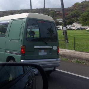 ハワイで最近よく見る日本の軽自動車