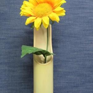 竹製花瓶・5