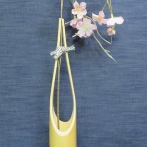 竹製花瓶・7