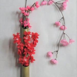 竹製花瓶・15