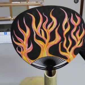 意外と面白い「自作うちわ」3・炎