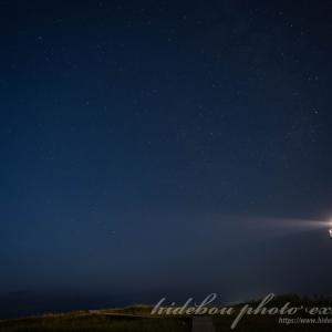 はまなすの丘公園で星撮影+豊平川通りで夜景撮影