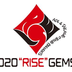 "ACE & TAKASHI O'HASHI Presents 2020""RISE""GEMS!! 11月29日(日) 大阪 南堀江 knaveを視聴した"