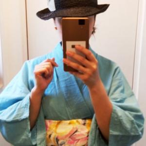 今日の着物コーデ