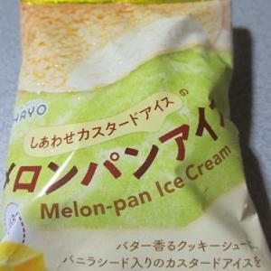 オハヨー乳業 しあわせカスタードアイスのメロンパンアイス