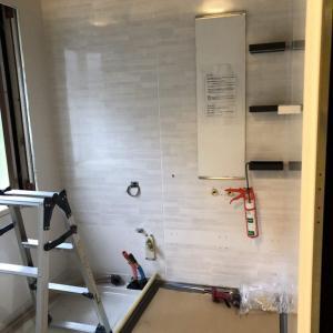 浴室リフォームの準備④~ユニットバスの施工
