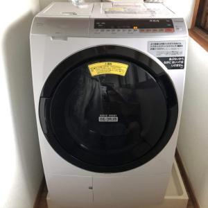 娘さんご夫婦へドラム洗濯機を納めさせていただきました