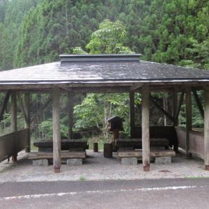 中辺路巡礼の2(8)〜地蔵茶屋跡でキャンプ@2019.08.31