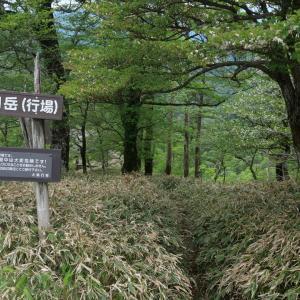 大峯奥駈道:釈迦ヶ岳でソロキャンプ(2)
