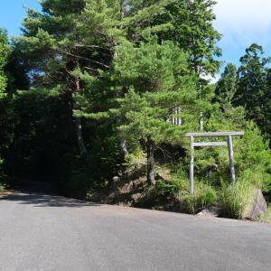 大峯奥駈道:玉置山と松平集落跡