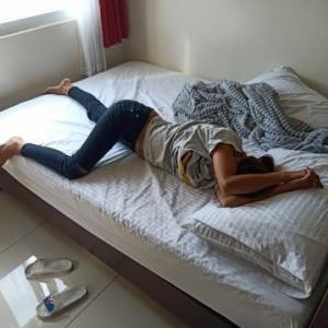 Yちゃんの寝正月