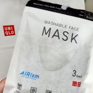 フィリピンユニクロでエアリズムマスク買いました
