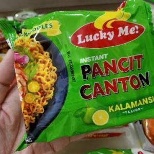 フィリピンで一番人気のインスタント麺パンシットカントン