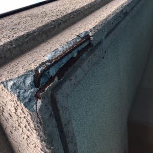 鉄筋コンクリートの弱点