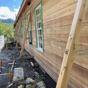足尾銅山産業遺産再生工事に入ります。