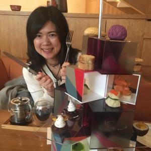 【中国 上海】オシャレな街、新天地のホテルでアフタヌーンティーを頂く♡@アンダーズ上海