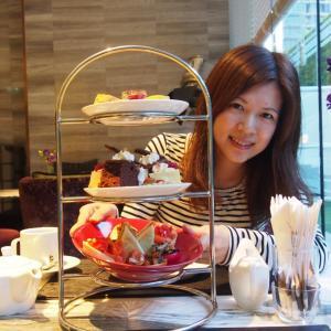 【タイ バンコク】ホテルのラウンジで非日常を味わうカラフルなアフタヌーンティー♡