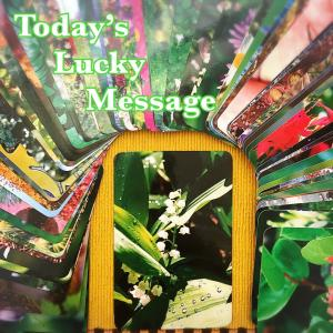 今日のラッキーメッセージ【若】♡フラワーエッセンスカードリーディング♡