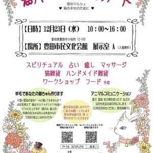 【愛知県豊田市】12/23 MIKITeasのブースにてフラワーエッセンス体験できます~♡