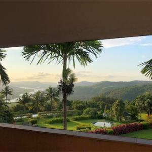 インドシリーズ4 ホテルの部屋から見える景色