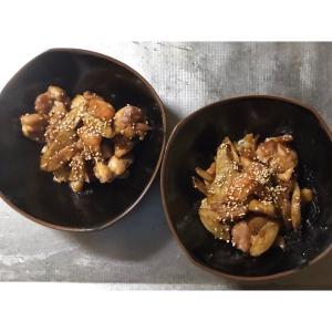 根菜の酢鶏