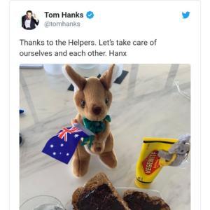 祝トム・ハンクス帰国