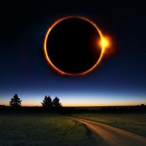 ☆夏至で新月で日食がある日☆