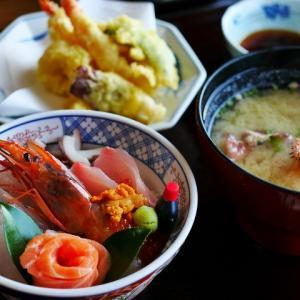 和食が1番。大雨の日に実感する。