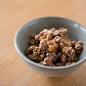 納豆を肴に飲む