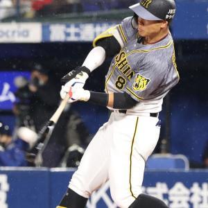 【野球】 阪神 佐藤輝明が規格外の3号ソロ 打球は右翼スタンドを越えて場外へ消える大ホームラン! 5打数2安打1打点