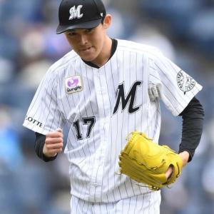 【野球】ロッテ佐々木朗希 デビュー戦は5回6安打4失点で初勝利の権利を持って降板 最速154Km/h