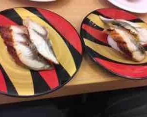 優待生活:[7412]アトム優待でカッパ寿司でうなぎです。