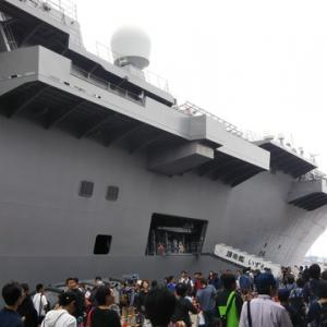 護衛艦いずもを見てきました