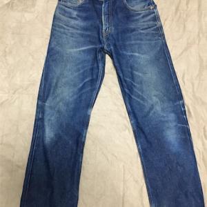 リーバイス505-0217ジーンズ[アメリカ企画] 3度目の洗濯。