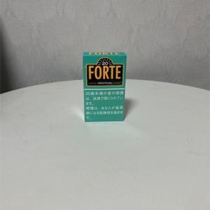 FORTE  MENTHOL [フォルテ メンソール)270円のリトルシガーを吸ってみた。