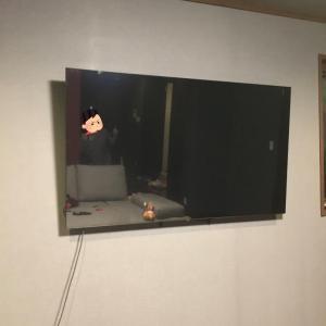 LDKの広さに対する65インチテレビの大きさ問題