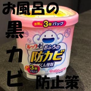 【ルック】防カビくん煙剤の効果抜群!?お風呂のズボラカビ対策