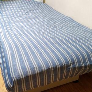 接触冷感ボックスシーツ(セミダブル)を試す・つるつる手触りで寝つき良好?