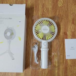 Benks F12 USB充電式ハンディ扇風機を試す