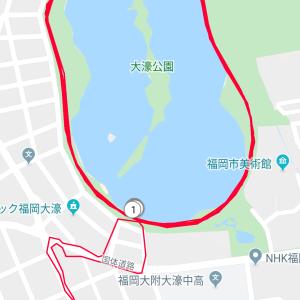 今日も16キロ走りました。
