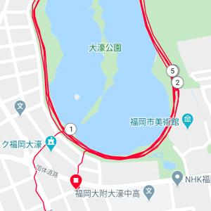 2000m X 3@水曜日練習会