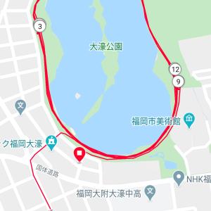 1000m X 6@水曜日練習会