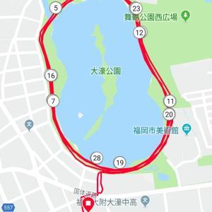 300m X 15@ふくろうの会 on 8/7